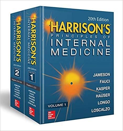 Harrison's Principles of Internal Medicine 19/E (Vol.1 & Vol